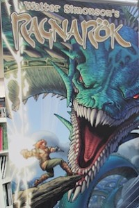IDW Ragnarök - Walter Simonson #SDCC14