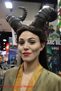 SDCC14 - Cosplay - Maleficent - Jennifer Lengerich - San Diego Comic-Con 2014
