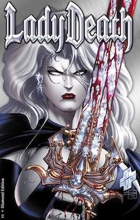 Lady Death #1 Diamond