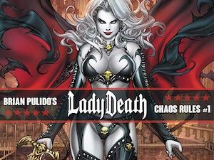 Lady Death: Chaos Rules #1 Kickstarter