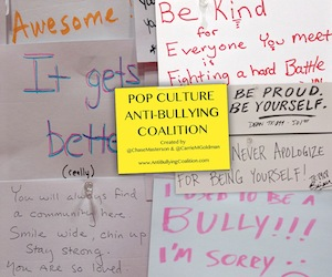 Pop Culture Anti-Bullying Coalition HEROISM IRL
