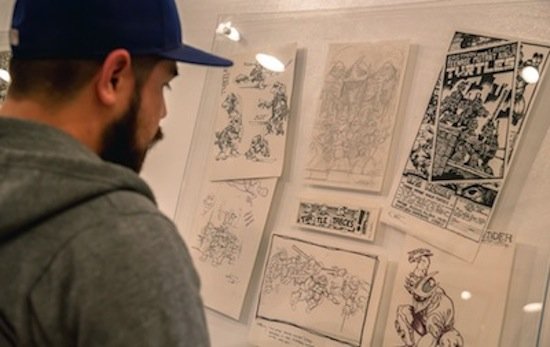 San Diego Comic Arts Gallery (SDCAG) - TNMNT art